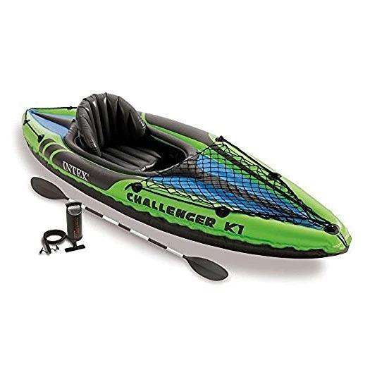 Image of Canoe Gonflabila INTEX Challenger K1, Set Complet