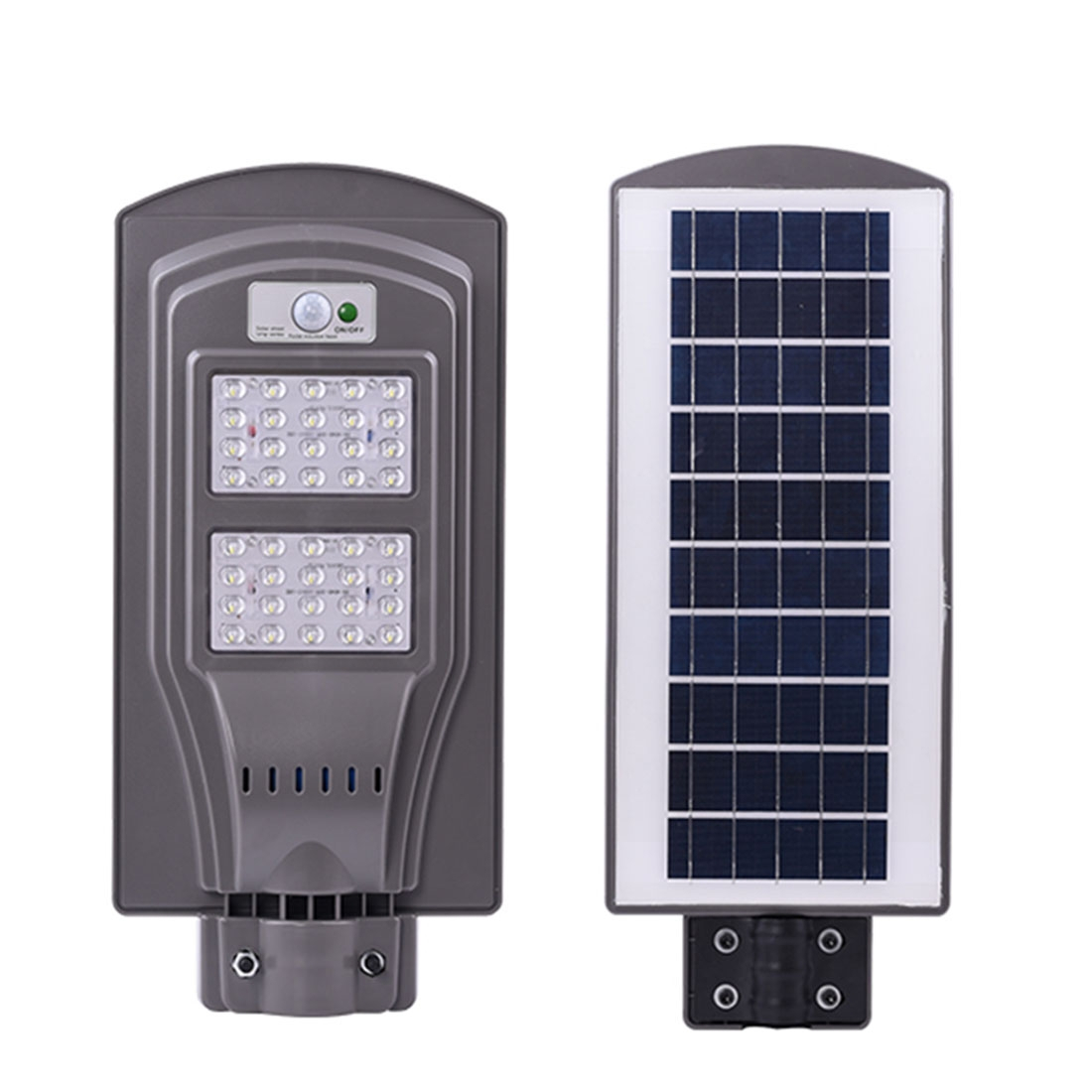 Image of Lampa stradala 40 LED cu panou solar si senzor de miscare