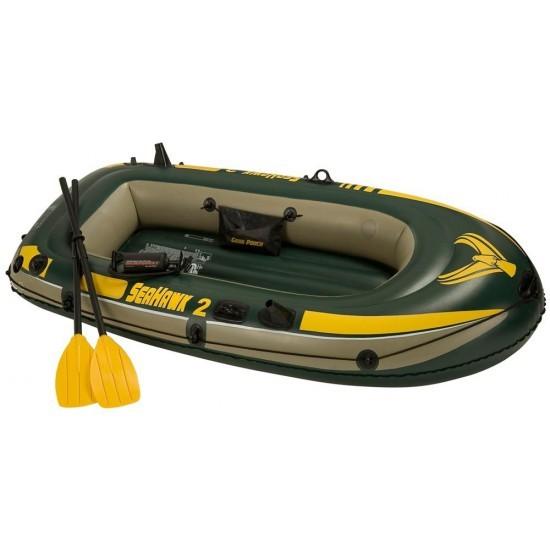 Barca gonflabila pentru 2 persoane Seahawk II Intex 68347 cu vasle si pompa pret