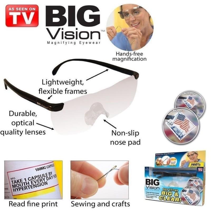 Ochelari de mărit Big Vision pret