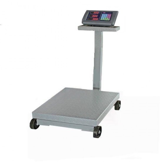 Image of Cantar electronic cu platforma 80x60cm capacitate 1000 KG