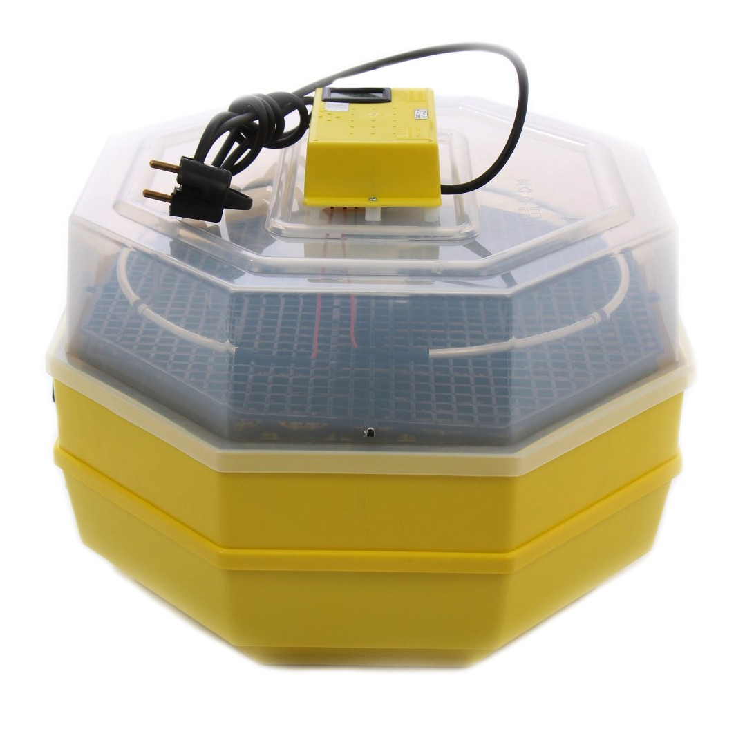 Image of Incubator electric dublu , CLEO 5X2 DT, Temperatura incubare 38 grade, Capacitate 82 oua gaina, Dispozitiv dublu de intoarcere si Termometru