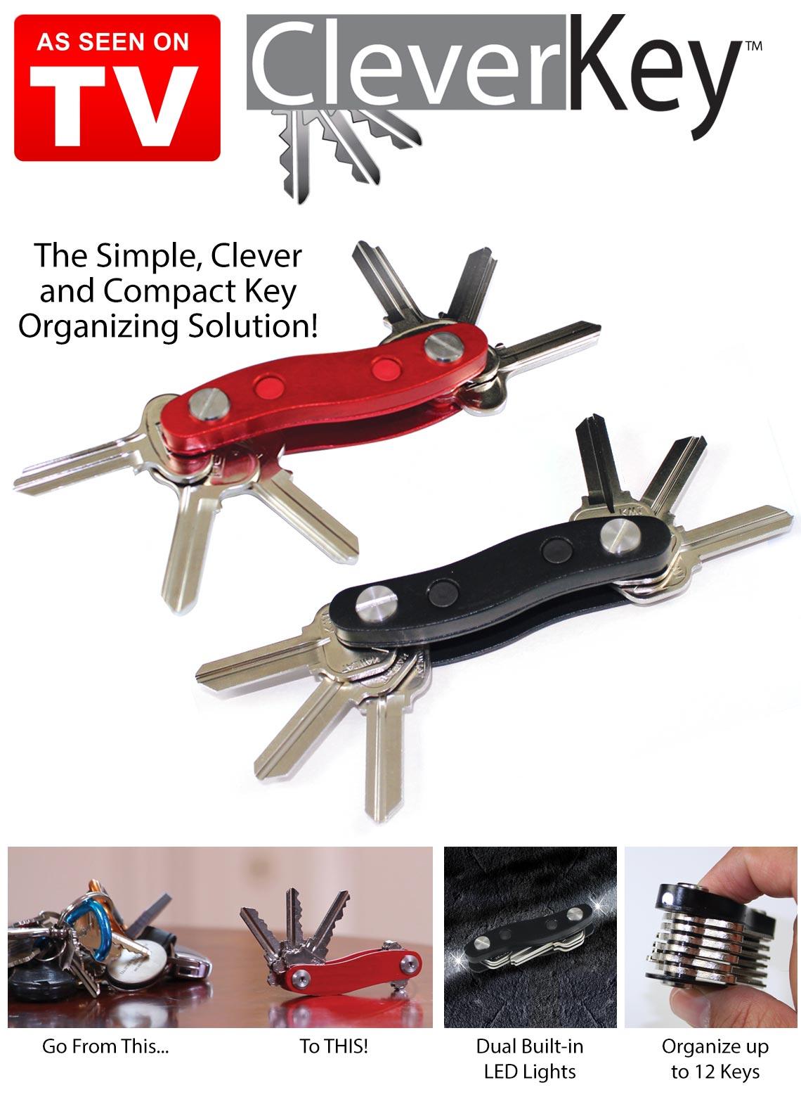 Image of Breloc tip organizator pentru 12 chei Clever Key