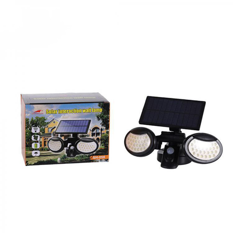 Lampa solara dubla, senzor de miscare, Lampi Ovale