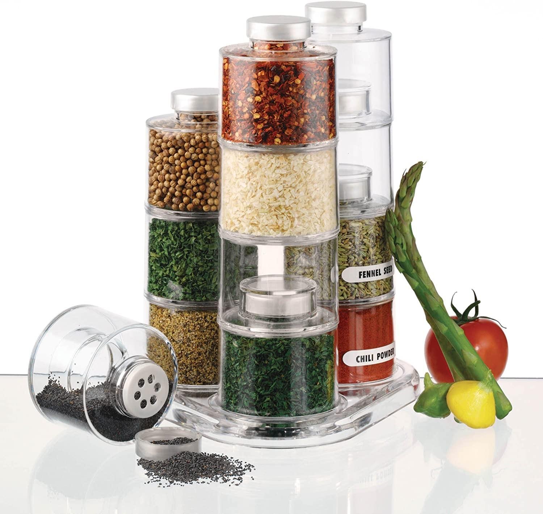 Set 6 piese pentru condimente , Spice Tower