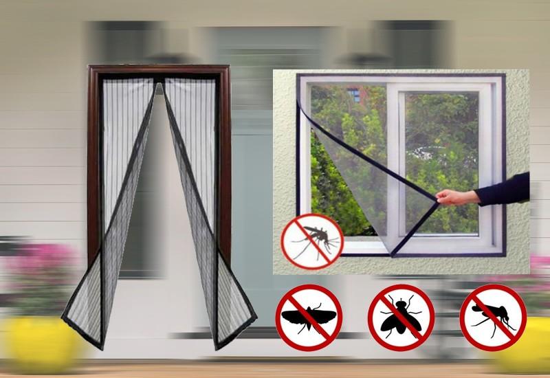 Pachet promotional set plasa de insecte pentru usa si fereastra