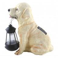 Lampa solara LED, caine cu felinar