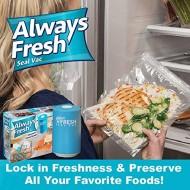 Set pentru vidare sigilare alimente cu dispozitiv vacuum si pungi