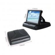 Monitor 4.3 LCD pliabil pentru camera marsarier