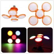 Bec LED Ajustabil si Pliabil cu forma de minge de fotbal, 40W