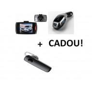 Pachet auto: Camera auto martor + Modulator FM + Cadou casca Hands free bluetooth