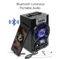 Boxa portabila Bluetooth, radio FM, baterie 1200 mAh