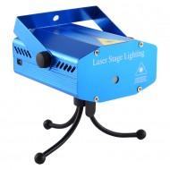 Mini Proiector Laser Lumini Disco, cu jocuri de lumini si senzor de sunet