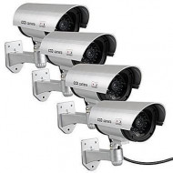 Set 4 camere supraveghere video false,cu LED incorporat