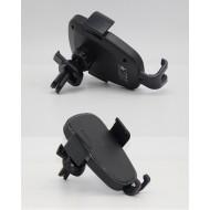 Suport auto pentru telefon cu incarcare Wireless prindere ventilatie.