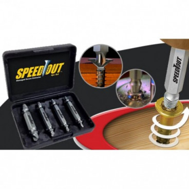 Set extractoare pentru suruburi Speed Out