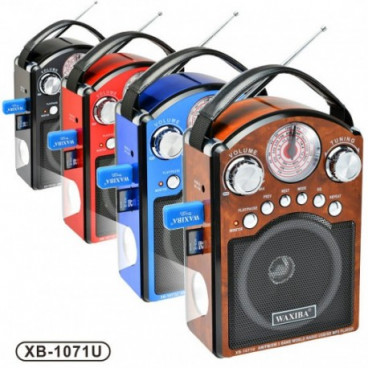 Radio multifunctional dotat cu mp3 player Waxiba XB-1071U