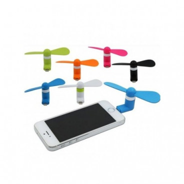 Mini ventilator telefon compatibilitate iPhone 5, 5S, 6, 6 PLUS
