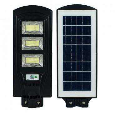 Lampa solara stradala sau de curte, 120W, COB, cu telecomanda