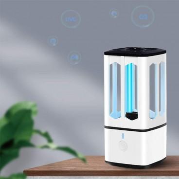 Mini Lampa UV-C, pentru casa si masina, cu incarcare USB, Sterilizare 360 grade