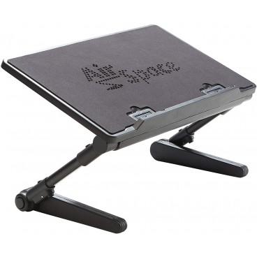 Masuta pliabila pentru laptop, inaltime ajustabila, rotire 180 grade, sistem blocare, 27x48x48 cm