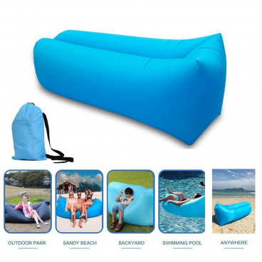Sezlong portabil Air Sofa Lazy Bed