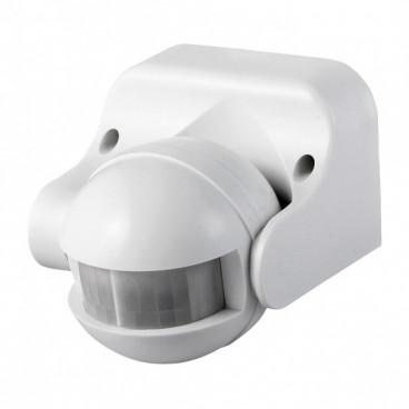Senzor de miscare cu infrarosu, 180 grade, montare perete, IP20