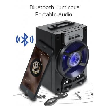 Boxa portabila Bluetooth, radio FM