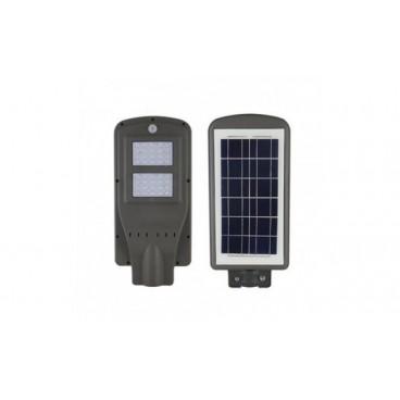 Lampa stradala COB LED 30 W cu telecomanda si panou solar