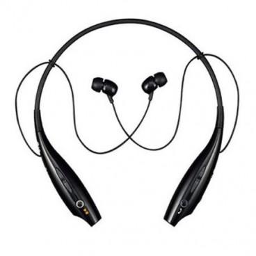 Casti Fitness Stereo Wireless tip Colier de Gat cu Bluetooth Microfon si Vibratii