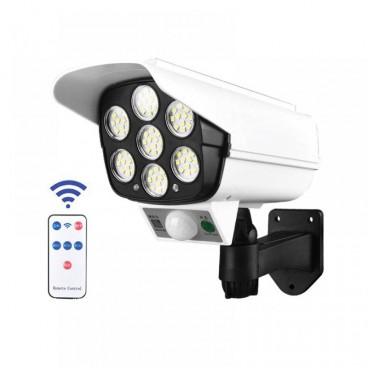 Lampa solara LED cu senzor de miscare, tip camera de supraveghere