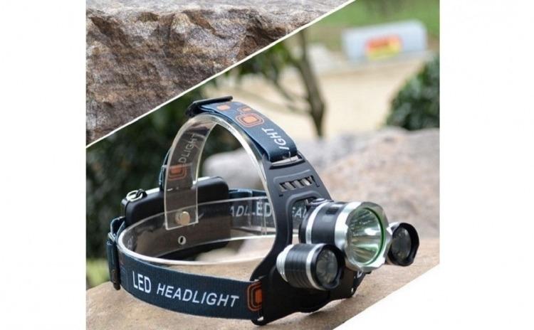 Lanterna frontala reincarcabila cu Zoom si LED Cree 5W pret