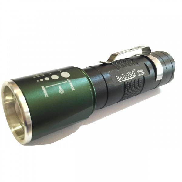 Image of Lanterna aluminiu cu LED si Zoom Bailong BLB32