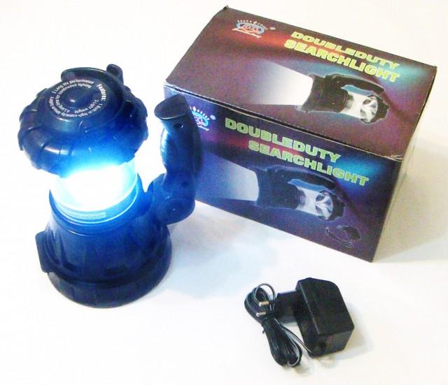 Image of Lanterna Super LED 1W + 18 LED-uri Camping - iluminare 360 grade