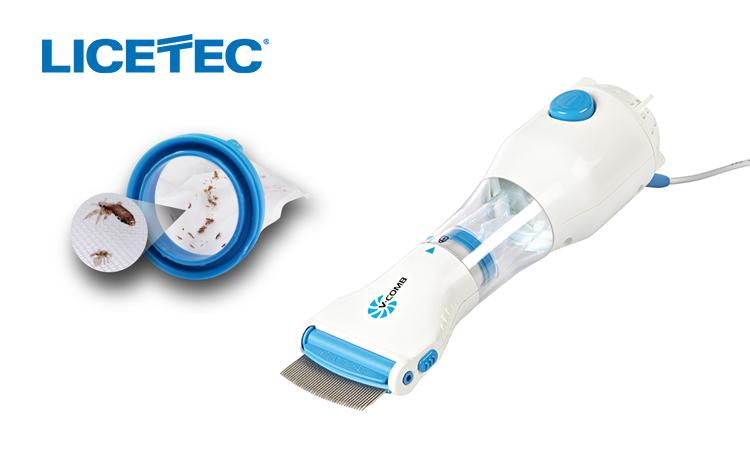 Image of Dispozitiv tratament anti paduchi si paraziti Licetec V-Comb