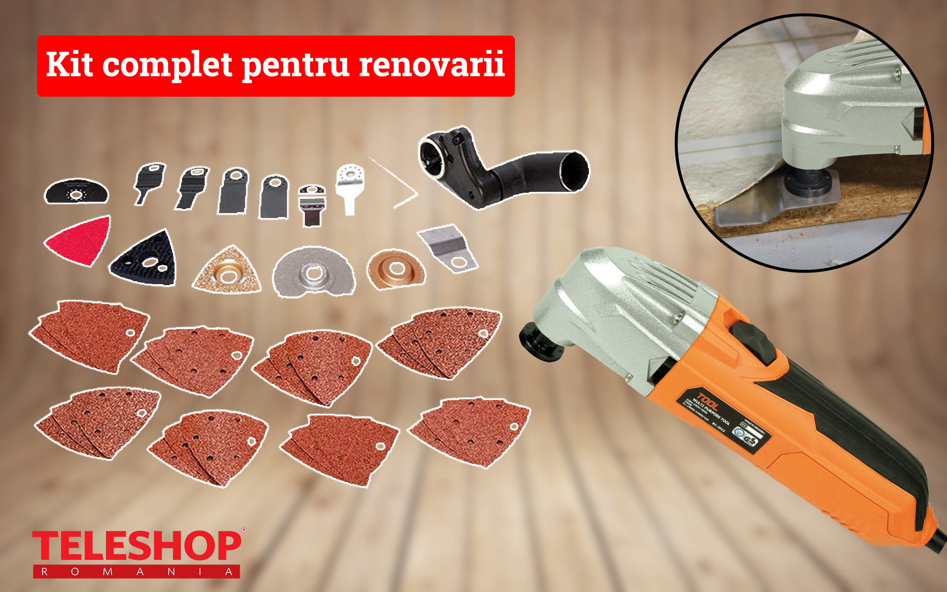 Image of Kit complet pentru renovarii