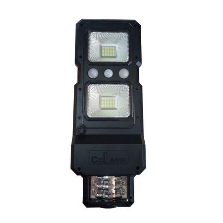 Image of Lampa stradala LED 60 W cu panou solar si senzor de lumina