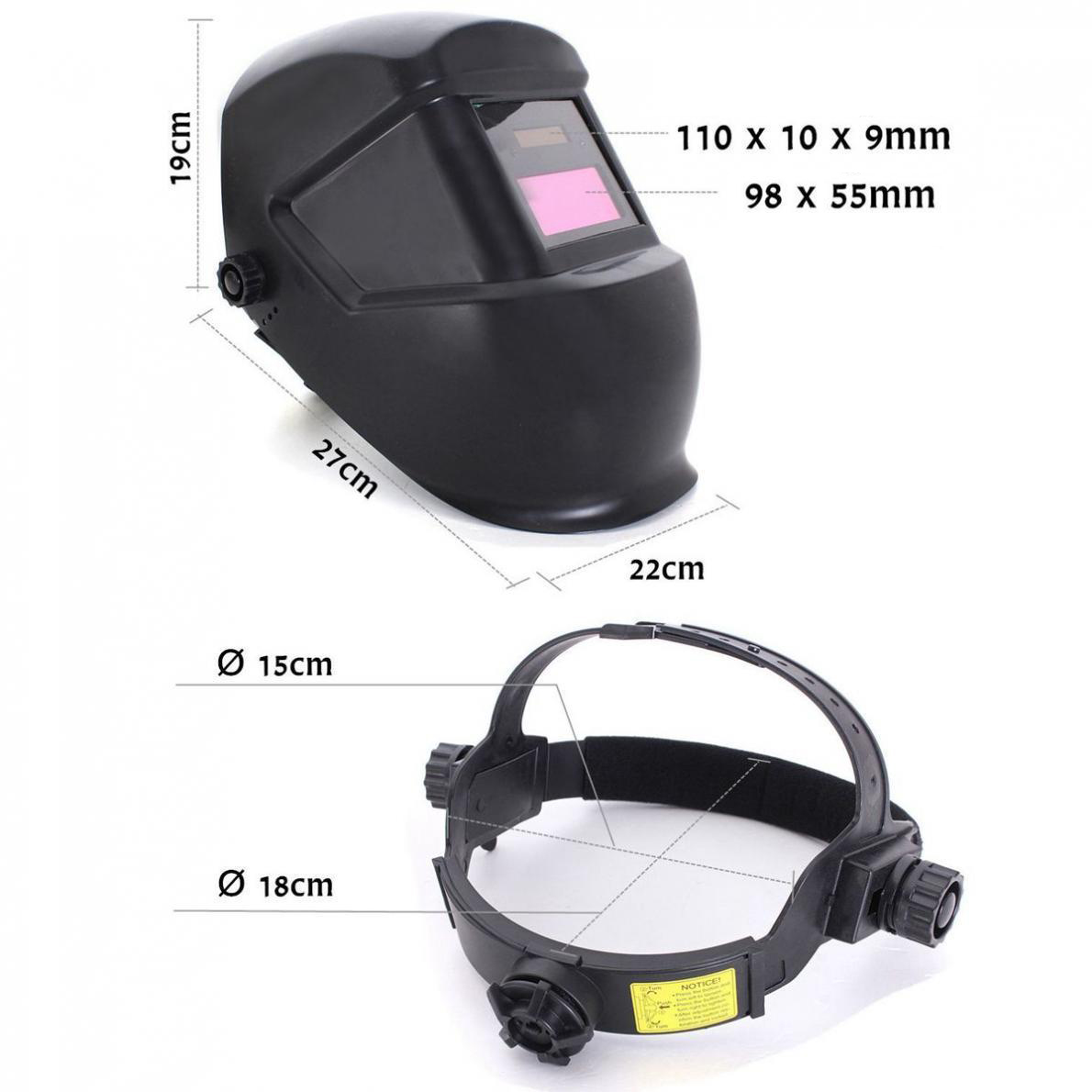 Image of Masca de protectie pentru sudura LCD cu reglaj