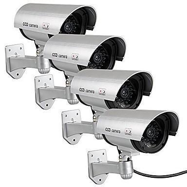 Image of Set 4 camere supraveghere video false,cu LED incorporat