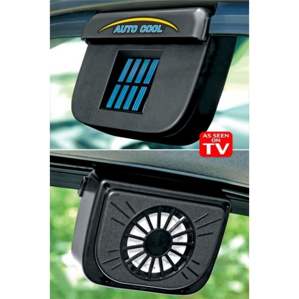 Image of Ventilator auto cu incarcare solara Auto Cool